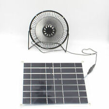 Solar Powered Fan for Home Cooling Ventilation little cooling system