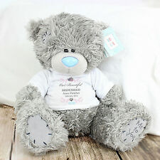 """Personalised  Me To You """"Our Beautiful"""" Tatty Teddy - Bridesmaid, Flower Girl"""