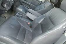 Honda Odyssey Real Genuine Leather Seat Armrest Covers Gray for 2005-2010