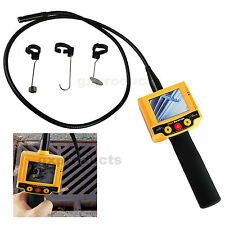 10mm Caméra Borescope d'inspection Vidéo Endoscope 180° Rotation 2 LED Gas Pipe