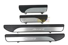 4 Pcs Stainless Door Sill Plate Guard Fit For Honda Accord 2013-2014