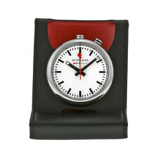 Mondaine Travel Alarm Clock A4683031911SBB