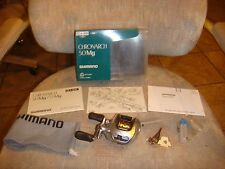 SHIMANO CHRONARCH 50MG REEL WITH BOX, ETC. (NEW IN THE BOX)