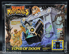 1987 Tonka Super Naturals Tomb of Doom AFA 90 MISB SuperNaturals