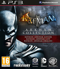 Batman Arkham Trilogy Collection PS3 Playstation 3 IT IMPORT WARNER BROS