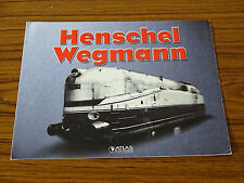 Henschel Wegmann - Atlas Editions - Advertising Brochure