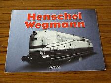 Henschel Wegmann - Atlas Editions - Advertising Brochure
