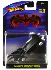 Hot Wheels Batman & Robin Batmobile Diecast 1/50 Series 3 New
