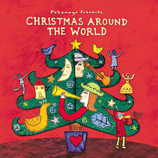 Putumayo Christmas Around the World CD New Cuba Cajun France Barbados USA 2003
