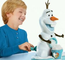 New Frozen Olaf Snow Cone Slush Maker Crushed Ice Drink Slushie Mr Frosty Gift