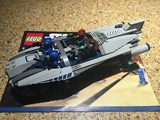 STAR WARS LEGO SETS 8128 CAD BANE'S SPEEDER COMPLETE WITH BOX AND MANUAL