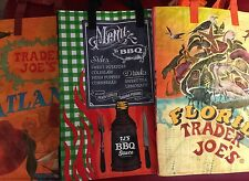South East States Trader Joe's BAGS reusable Shopping grocery ECO 3 bags NWT