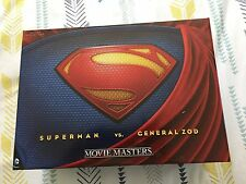 SDCC 2013 EXCLUSIVE DC MAN OF STEEL MOVIE MASTERS SUPERMAN vs GENERAL ZOD RARE!!