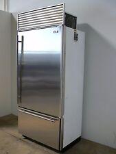"""Sub Zero 650 S 36"""" Stainless Steel Refrigerator Bottom Freezer w/ Ice Maker"""