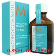 100% Authentic Moroccanoil Treatment LIGHT 0.85 oz / 25ml + Free Shipping