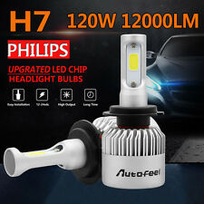 PHILIPS 120W 12000LM H7 LED Headlight Conversion Kit Bulbs Lo Beam 6000K Canbus