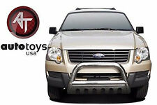ATU 2006-2010 Ford Explorer Stainless Bull Bar Brush Bumper Guard