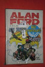 ALAN FORD-1°serie ORIGINALE- N° 58 -DI MAX BUNKER NO TNT-EDITORIALE CORNO 1974-a