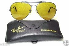 RAY-BAN NOS VINTAGE B&L AVIATOR *CHROMAX GENERAL DrivingSrs W1664 NEW SUNGLASSES