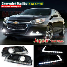 LED Daytime Running Light For Chevy Chevrolet Malibu Fog Lamp DRL 2012 2013 2014