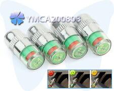 4 x PSI Medidor Indicador Sensor Alarma Presión Ruedas Neumático Accesorio Coche