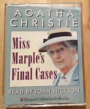 AUDIO BOOK: Agatha Christie - MISS MARPLE'S FINAL CASES on 2 x cass
