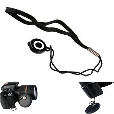 2pcs Anti-Lost Lens Cover Cap Keeper String Lanyard Strap For Canon Sony Pentax