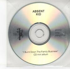(EH542) Absent Kid, I Burnt Down The Family Business - DJ CD