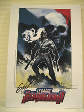 ERIC POWELL FRENCH SUPER HERO LIMITED SIGNED FRENCH PRINT THE GOON