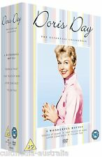 DORIS DAY ULTIMATE ESSENTIAL FILMS COLLECTION NEW 4 MOVIES 4 DVD BOXSET