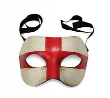 VENETIAN Masquerade Mask Colombina Flag of England Vintage Look Made in Italy