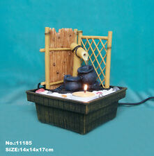 Feng Shui Tabletop Electric Zen Garden Water Fountain