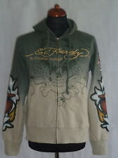 ED HARDY by Christian Audigier Sweatjacke Jacke Hoodie Gr. S Neu Death or Glory