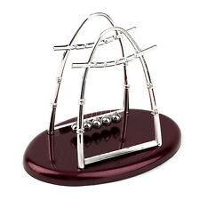 Hot Newton's Cradle Steel Balance Ball Physics Science Pendulum Desktop Gift IM