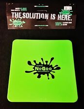 "1 Green Nogoo Non-Stick Silicone ""Slab-In-It"" 7""x7"" Square Tray Sealable Lid"