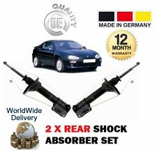 FOR MAZDA MX3 1.6 1.8 1991-1997 REAR LEFT + RIGHT SHOCK ABSORBER SHOCKER X2