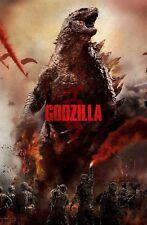 Godzilla movie poster (e) - 11 x 17 inches (2014) Godzilla poster