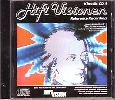 HIFI VISIONEN - Klassik-CD 4 - rare audiophile CD 1989 Reference Recording