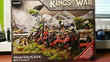 Mantic Games Kings of War Dwarf One Player Battle Set