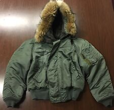 Vietnam USAF Sgt. Flying Flight Jacket N-2B MIL-J-6278E Medium Lancer Clothing