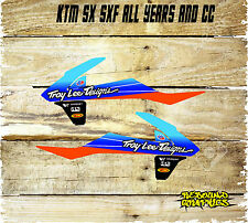 KTM SXF/SX 50 65 85 125 250 450 RAD SCOOP MOTOCROSS GRAPHICS BLACK-STICKER-DECAL