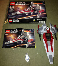 6205 V-WING FIGHTER star wars lego legos set COMPLETE box instructions