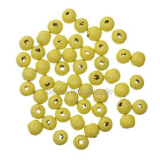 Wholesale 300 pcs 8mm Round Wood Ball Spacer Loose Beads For Jewelry Making