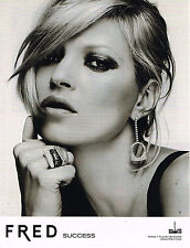 PUBLICITE  2009  FRED  joaillier  KATE MOSS