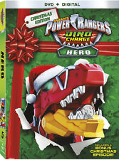 Power Rangers Dino Charge Hero (2016, REGION 1 DVD New)