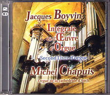 Jacques BOYVIN 1649-1706 Second Organ Book MICHEL CHAPUIS 2CD Cathedrale d'Auch