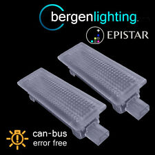 FOR RANGE ROVER SPORT 18 LED FOOTWELL BOOT DOOR COURTESY GLOVE BOX LAMP PAIR