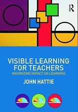Visible Learning for Teachers : Maximizing Impact on Learning by John Hattie (20