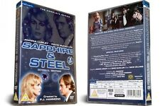 SAPPHIRE & STEEL the complete series Special Edition Box Set. New and sealed DVD