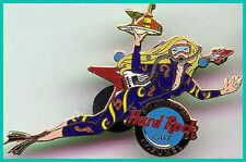 Hard Rock Cafe COZUMEL 2002 8th Anniversary PIN Sexy Scuba Diver Girl HRC #14506